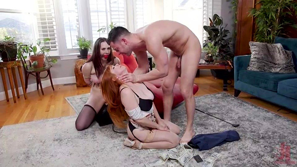 [FamiliesTied – Kink] Chanel Preston, Penny Pax – Step-Mother Chanel Preston Fucks Son and His Cheap Whore Girlfriend! [540p]