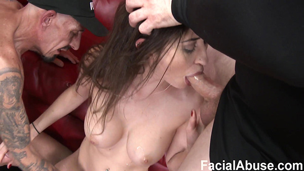 [FacialAbuse] Angelina Diamanti aka Rose Black – Skin, Bones, and Bolt Ons [1080p]