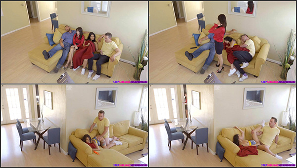 [StepSiblingsCaught] Gina Valentina – Family Flicks [720p] (Incest Roleplay)