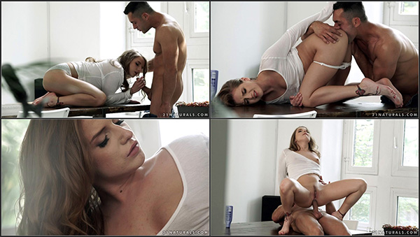 [21EroticAnal] Sofi Goldfinger – Kitchen Table Fun [720p HEVC x265]