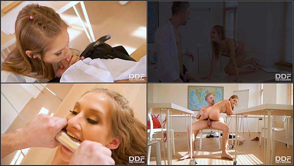 [DDFNetwork] Tiffany Tatum - Naughty Schoolgirls Sex Lesson [1080p HEVC x265 30FPS]