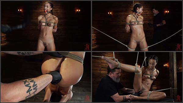 [HogTied] Alexis Tae - Alexis Tae's First Time Being tormented in Grueling Bondage [720p 30FPS]