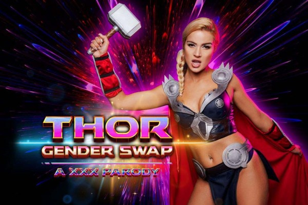 [VRCosplayX] THOR A XXX PARODY GENDER SWAP Starring: Cherry Kiss (GearVR/DayDream) [1440p 60FPS]