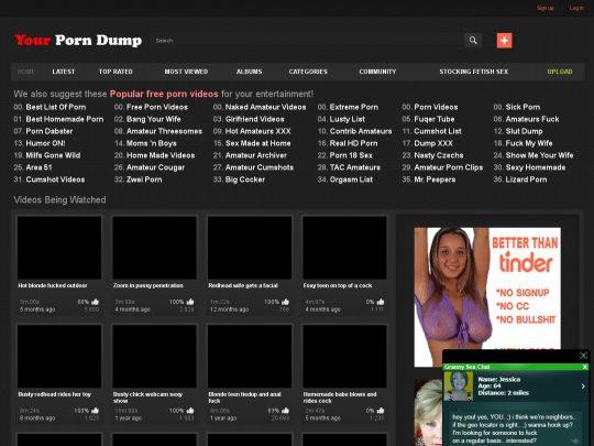 Yourporndump Best Amateur Porn Sites