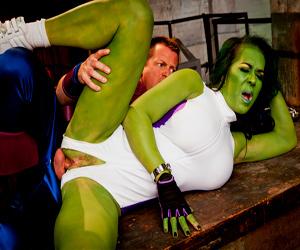 sexy she hulk porn