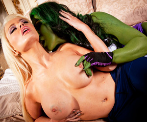 xxx forced she hulk