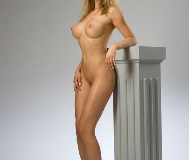 Perky Tit Babe Posing
