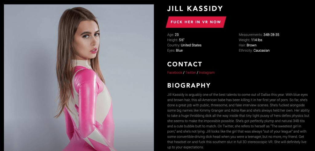 jill kassidy profile bio from vrcosplayx