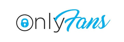 onlyfans logo and icon over a white background