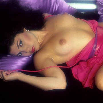Ava Monet Penthouse Pet of the month December 1980