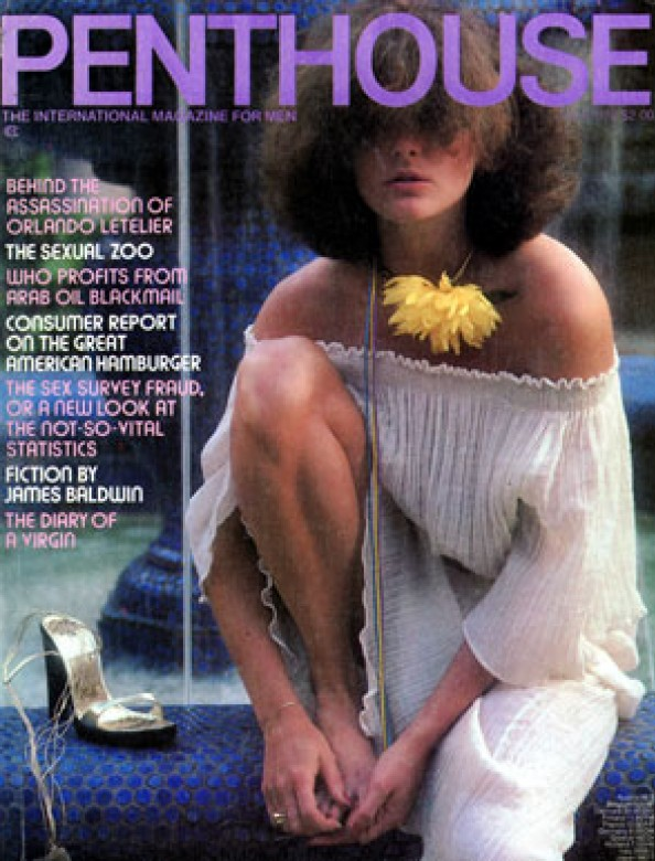 Barbara Ann on the cover of Penthouse magazine July 1978
