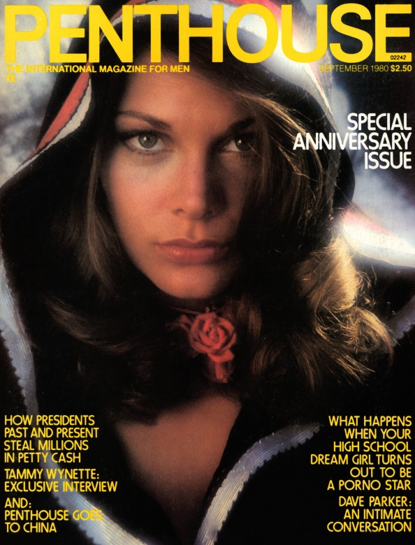 Delia Cosner on the cover of Penthouse Magazine