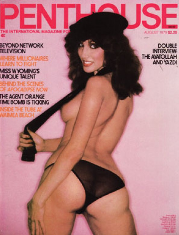 Diane Weber on the cover of Penthouse magazine August 1979