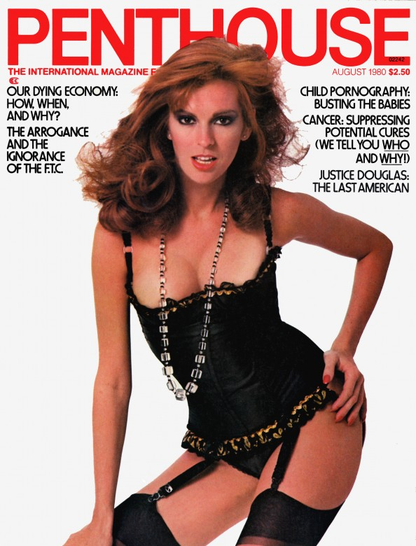 Dianne Jamison on the cover of Penthouse Magazine