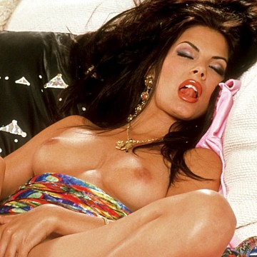 Eva Major Penthouse Pet of the month January 1998