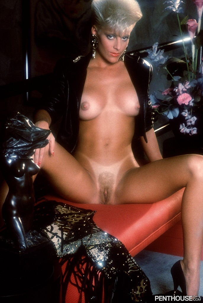 Jaqueline Winfield posing nude for the April 1990 issue of Penthouse