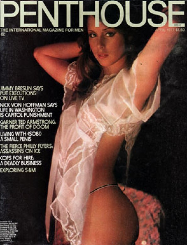 Shonna Lynne on the cover of Penthouse magazine
