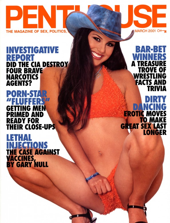 Sunny Leone on the cover of Penthouse magazine