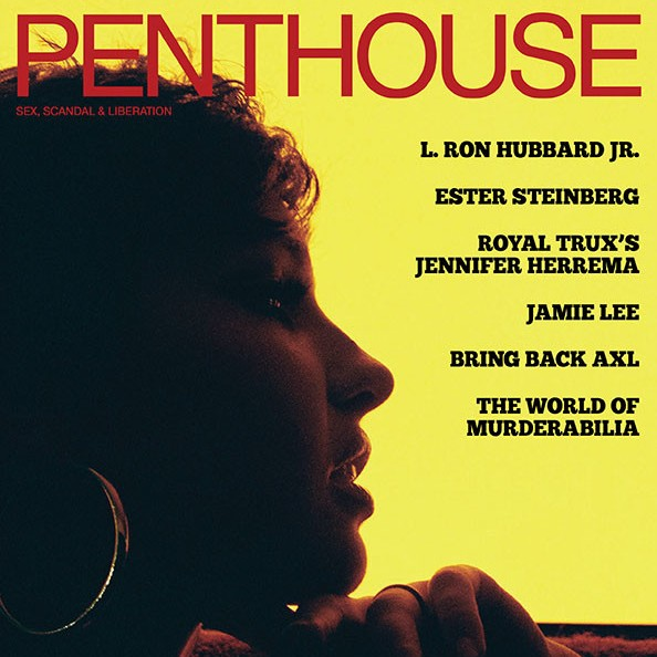 Jay Marie on cover of Penthouse Magazine