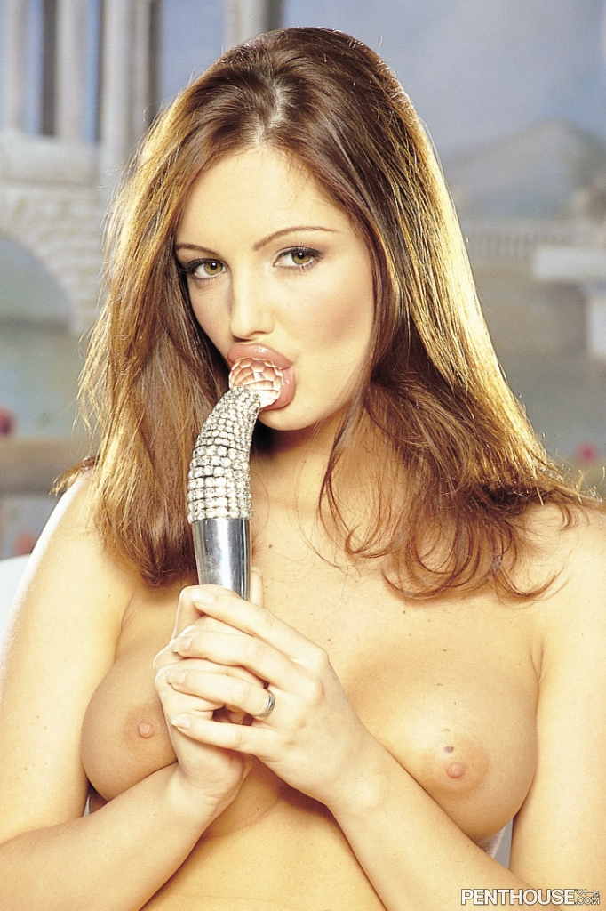 Sandra Shine nude in her August 2003 Penthouse Pet Of The Month photo spread 005