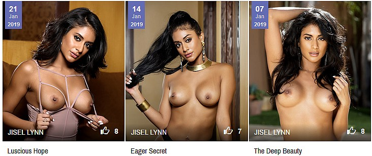 additional Jisel Lynn Penthouse picture galleries