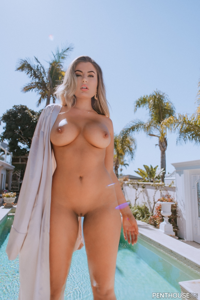 Cherie Noel nude in her August 2021 Penthouse Pet Of The Month photo spread 001