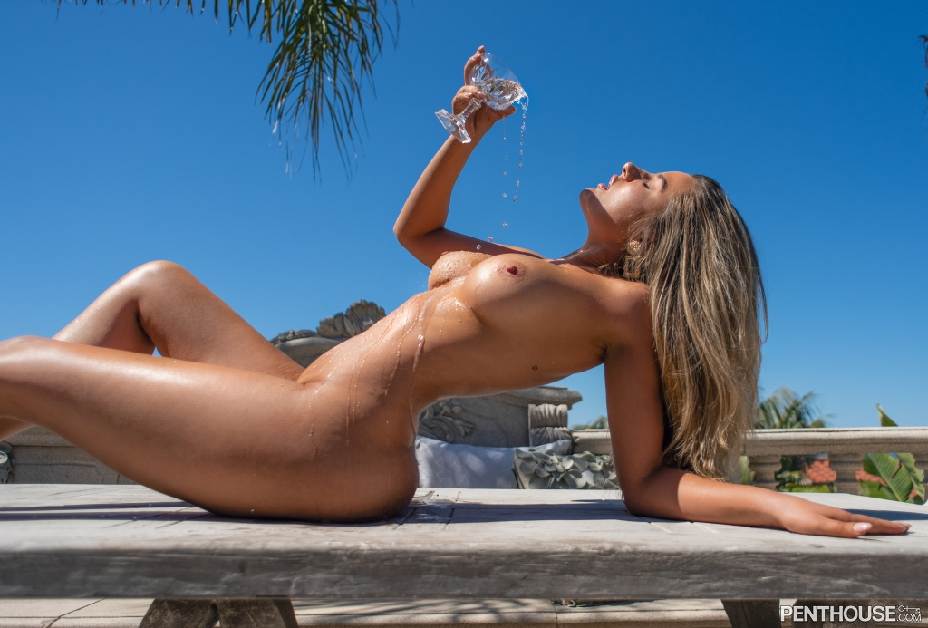 Cherie Noel nude in her August 2021 Penthouse Pet Of The Month photo spread 005