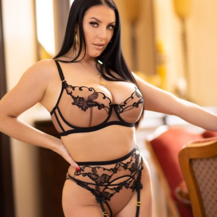 Angela White nude in her October 2021 Penthouse Pet Of The Month photo spread 005