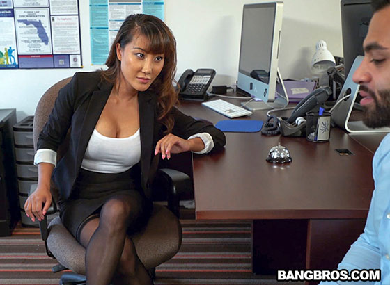 Tiffany Rain (Tiffany finally gets fucked in her office / 04.22.2017)