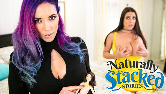 Jelena Jensen, Angela White (Naturally Stacked Stories: That Voodoo That You Do / 06.30.2017)