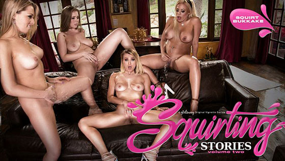 Zoey Monroe, Luna Star, Natalia Starr, Lena Paul (Squirting Stories Volume Two: Squirt Bukkake / 05.25.2017)