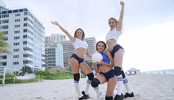 Sierra Nicole, Nicolette Love, Eve Ellewood (Volleyballin / 08.05.2017)