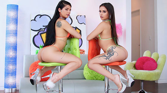 Gina Valentina, Jynx Maze (A Sloppy Duo / 03.25.2018)