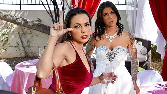 Bisexual Bride with Felicity Feline, Abigail Mac