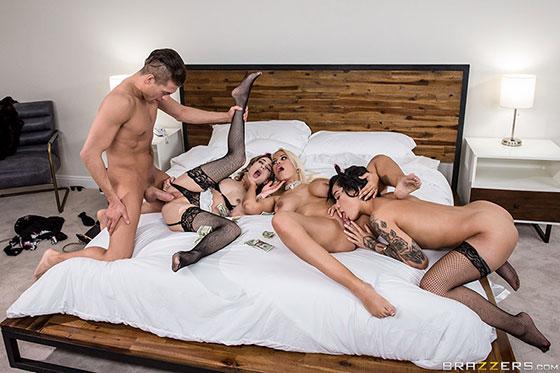 Rich Fucks: Part 2 with Bridgette B., Kristen Scott, Honey Gold
