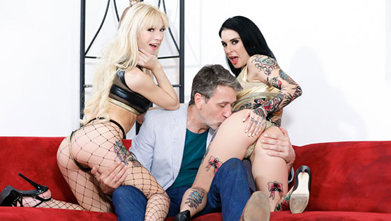 [BurningAngel] Joanna Angel, Kenzie Reeves (Fuck This Couch / 06.01.2018)