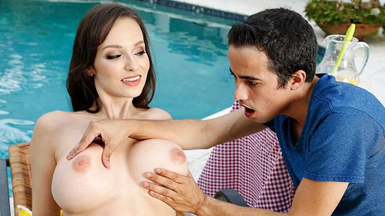 Stepmom Gets Soaked with Lexi Luna
