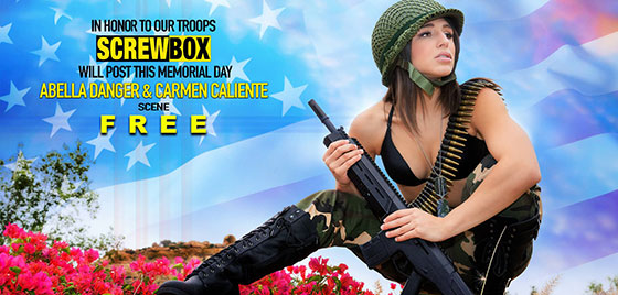 Memorial Day Special with Carmen Caliente, Abella Danger