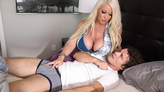 Nursing My Stepson's Sick Dick with Alura Jenson