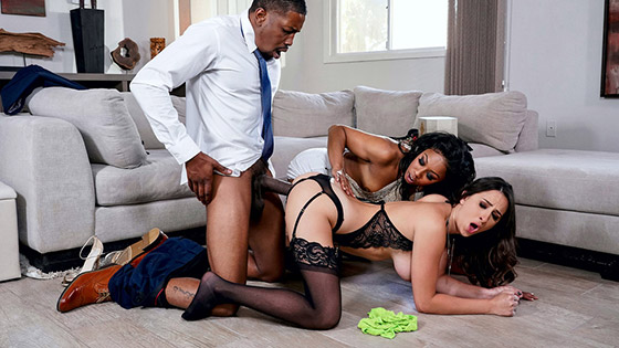 Our Cute Little Plaything 3 with Ashley Adams, Misty Stone