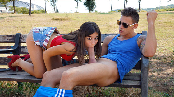 Mouthful of Dick with Ena Sweet