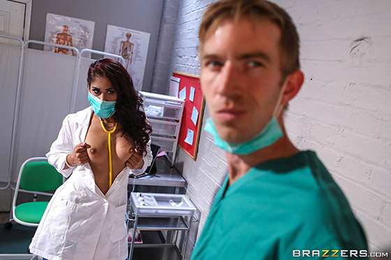 Sexy Doctor Adventures with Sahara Knite