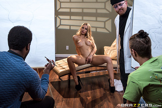 [BrazzersExxtra] Nicole Aniston (Abstract Sexpressionism / 09.02.2018)