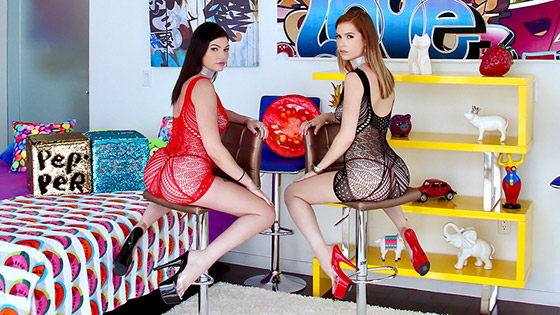 Raunchy Anal Action with Jessica Rex, Pepper Hart