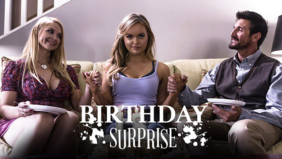 Birthday Surprise with River Fox, Sarah Vandella