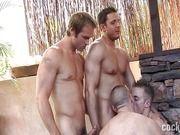 Gays na suruba sem camisinha.