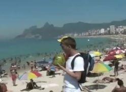 Brasileiros metendo até de baixo d'água.