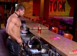 Barman sarado peladinho.