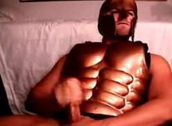 Gladiador na punheta.