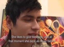 Gozou na boca do novinho gay – porno gay